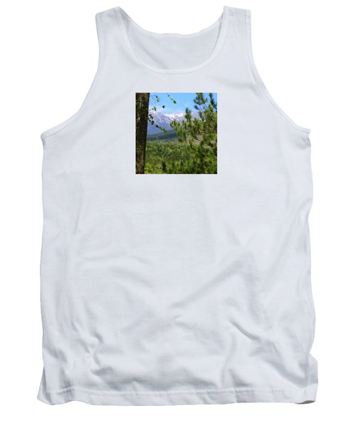 Tank Top featuring the photograph Views Of Katahdin by Robin Regan