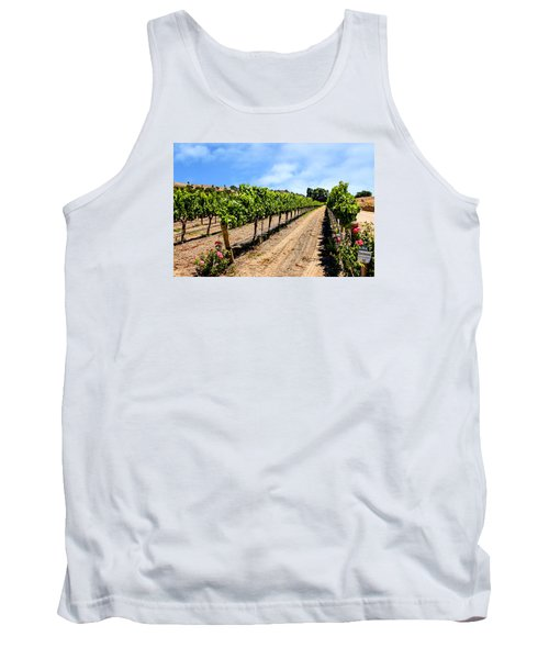 Vines And Roses Tank Top by Chris Smith