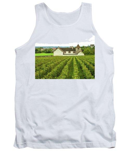 Vineyard In France Tank Top