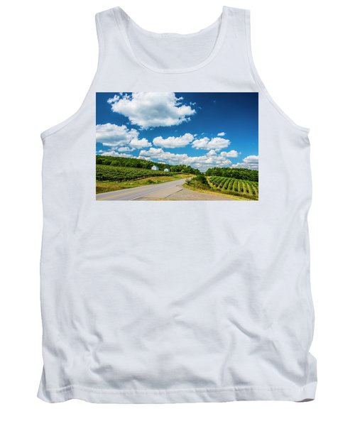Vineyards In Summer Tank Top by Steven Ainsworth