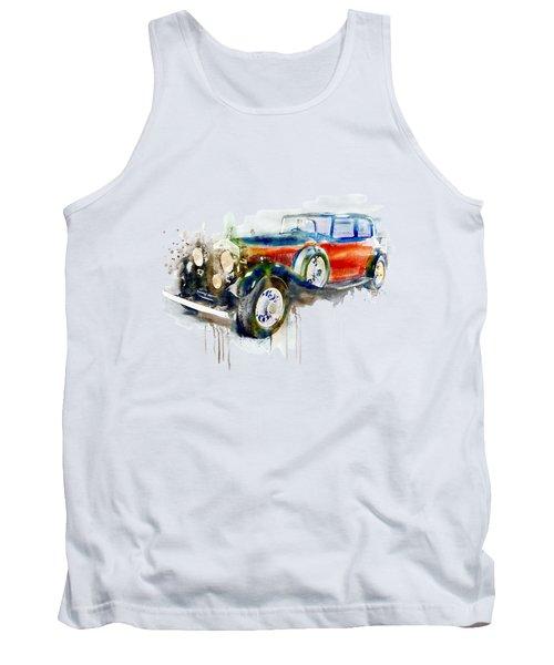 Vintage Automobile Tank Top