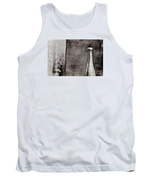 Tank Top featuring the photograph Vintage Beer Bottle by Andrey  Godyaykin