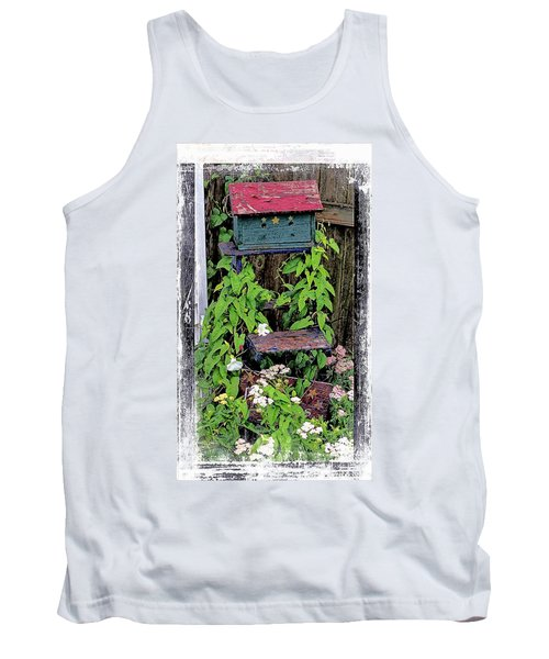 Vintage Bird House Tank Top