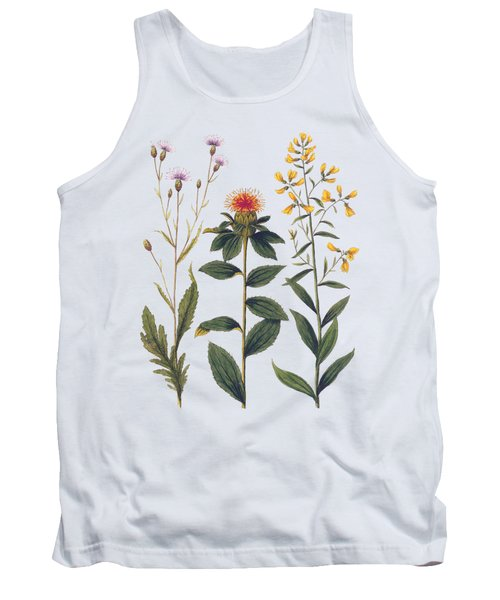 Vintage Botanical Wildflowers Tank Top