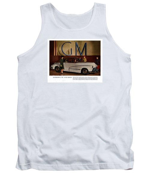 Vintage Car Ads Tank Top by Allen Beilschmidt