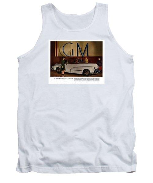 Vintage Car Ads Tank Top