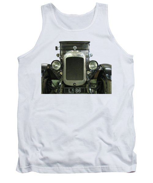 Vintage Convertible Motor Car. Tank Top by Tom Conway