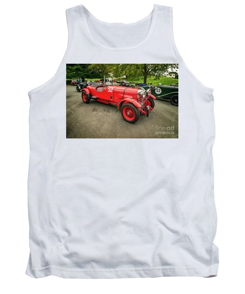 Tank Top featuring the photograph Vintage Motors by Adrian Evans