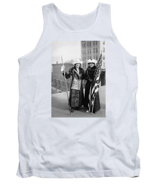 Vintage Photo Suffragettes Tank Top