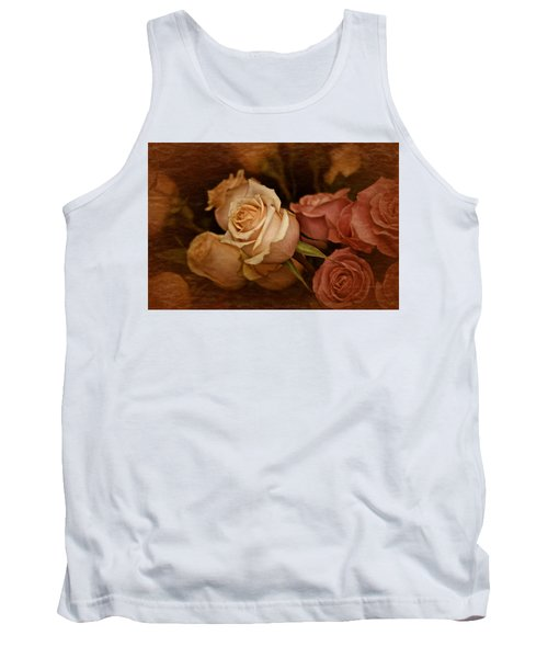 Tank Top featuring the photograph Vintage Roses March 2017 by Richard Cummings