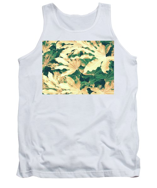 Tank Top featuring the photograph Vintage Season Gold by Rebecca Harman