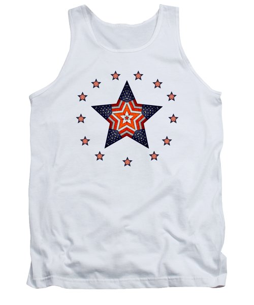 Vintage Us Fag Star Tank Top