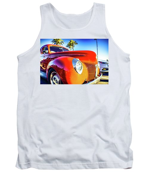 Vintage Vibrance Tank Top by Mark David Gerson
