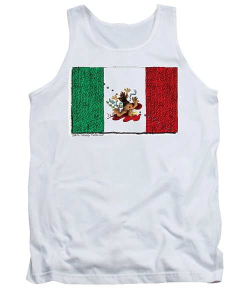 Violence In Mexico Tank Top