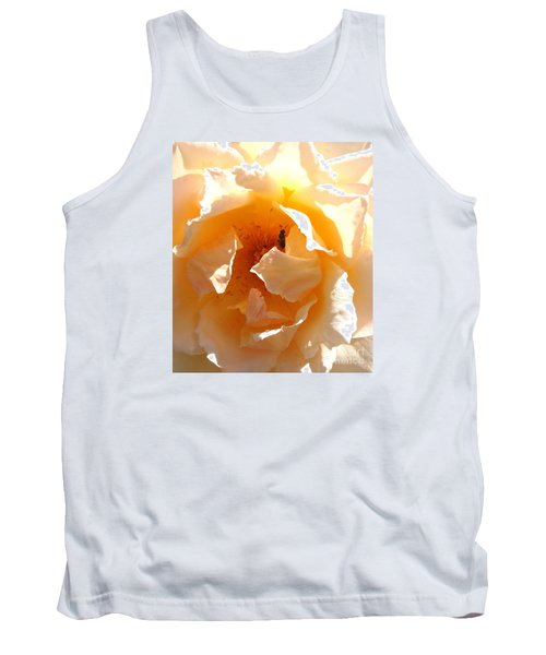Tank Top featuring the photograph Visitor by Fred Wilson