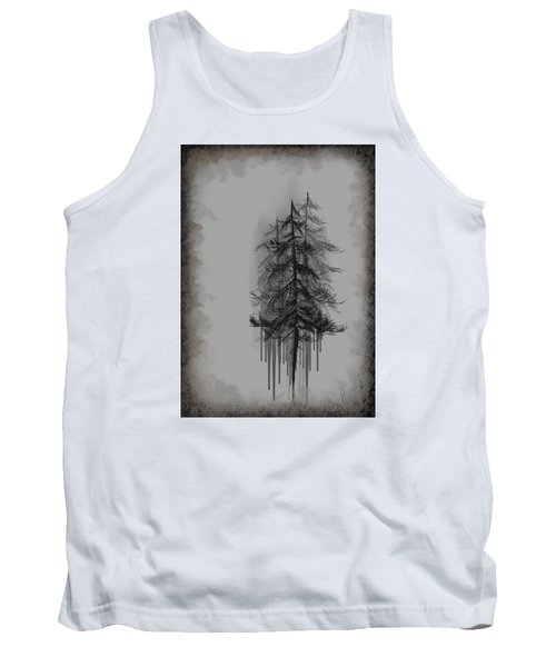 Tank Top featuring the painting Voices by Annette Berglund