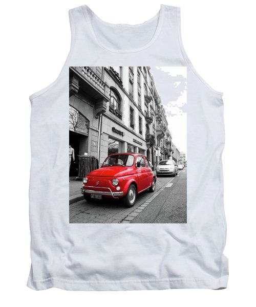 Voiture Rouge Tank Top