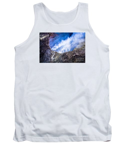 Tank Top featuring the photograph Volcano by M G Whittingham