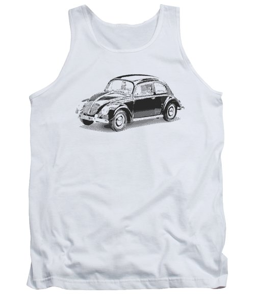 Volkswagen 1949 - Parallel Hatching Tank Top
