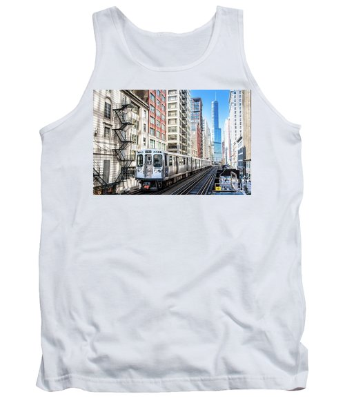 The Wabash L Train Tank Top