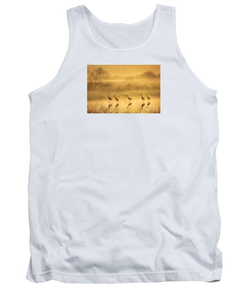 Waiting Tank Top by Alice Cahill