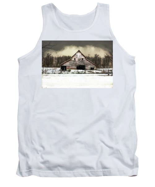 Tank Top featuring the photograph Waiting For The Storm To Pass by Julie Hamilton