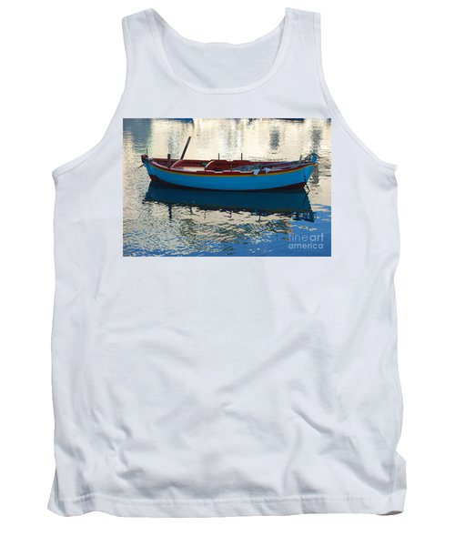 Waiting To Go Fishing Tank Top