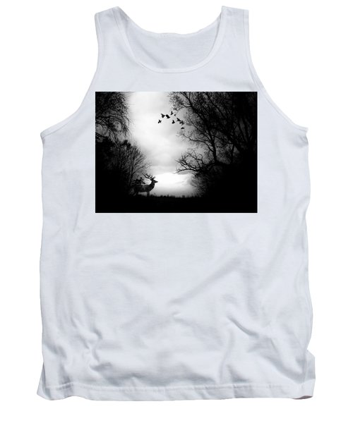 Waking From Winters Sleep Tank Top by Michele Carter