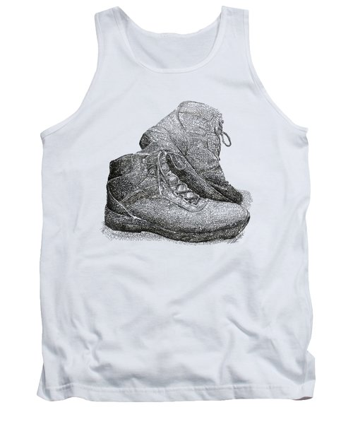 Walk A Mile In My Shoes-john Casanover Ms Project Tank Top