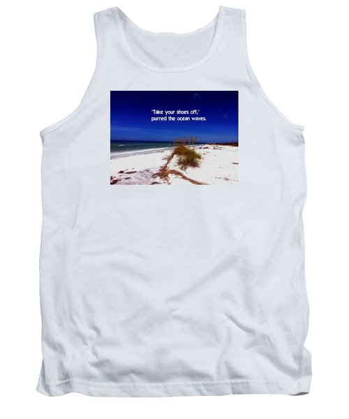 Walk In The Sand Tank Top