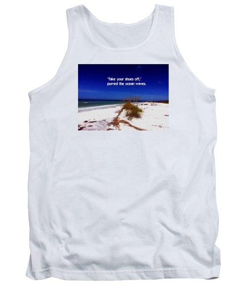 Walk In The Sand Tank Top