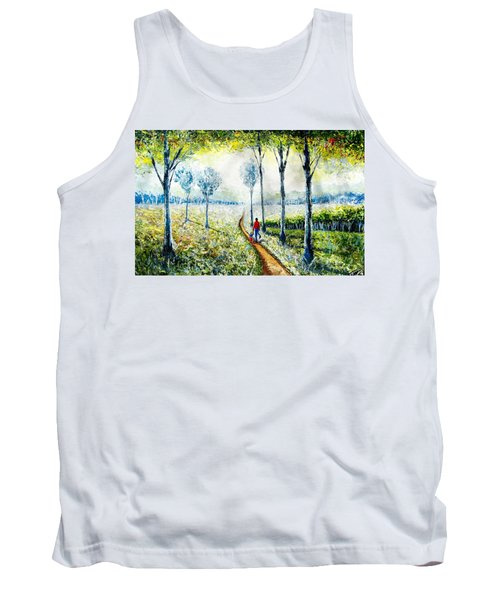 Walk Into The World Tank Top