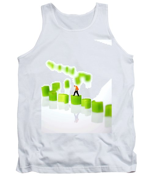Walking On Celery  Tank Top by Paul Ge