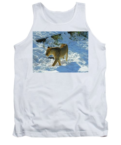 Walking On The Wild Side Tank Top by Emmy Marie Vickers