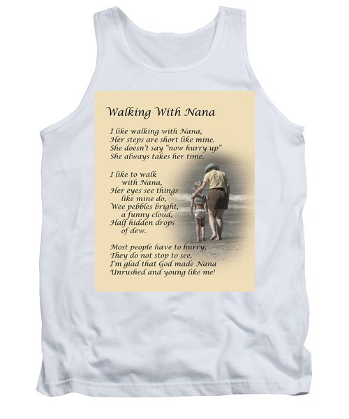Walking With Nana Tank Top