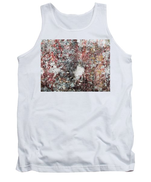 Wall Abstract 103 Tank Top by Maria Huntley