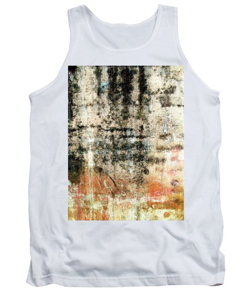 Tank Top featuring the photograph Wall Abstract 182 by Maria Huntley