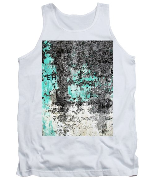 Tank Top featuring the photograph Wall Abstract 185 by Maria Huntley