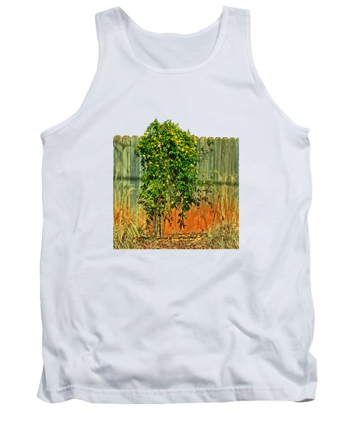 Wall Of Jasmine Tank Top by Larry Bishop