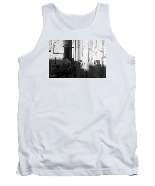 Wall Pipe Shadows Tank Top by Catherine Lau