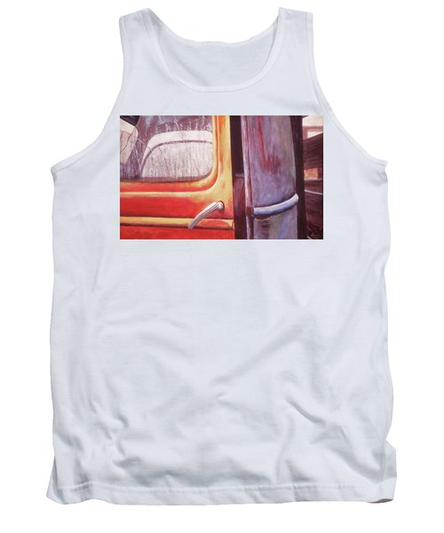 Tank Top featuring the painting Walter by Laurie Stewart
