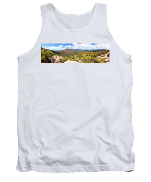Wangara Hill Flinders Ranges South Australia Tank Top by Bill Robinson