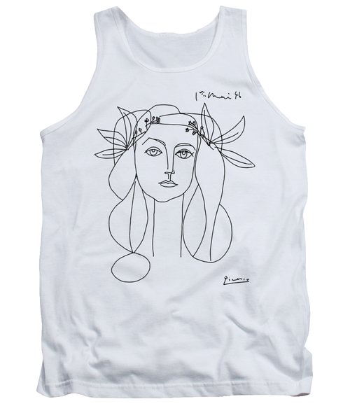 War And Peace, 1952 Artwork Reproduction Tank Top