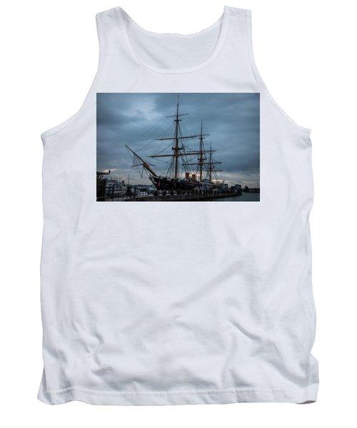 Warrior At Christmas Tank Top