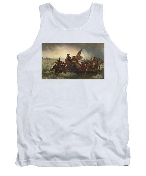 Washington Crossing The Delaware Tank Top