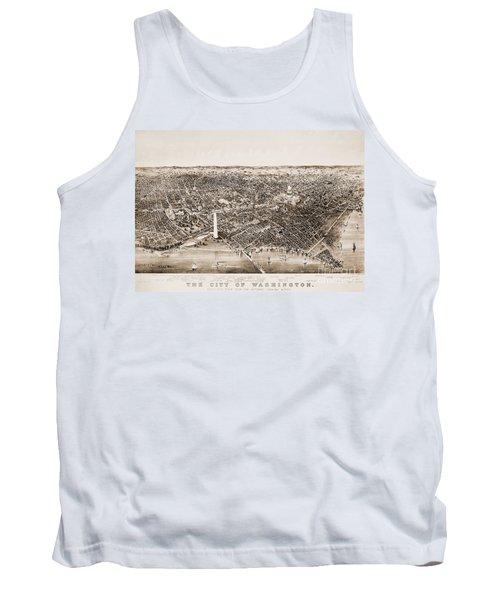 Washington D.c., 1892 Tank Top by Granger