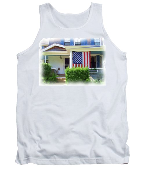 Watch Hill Ri Cottage Tank Top