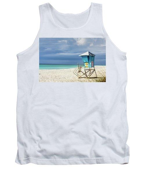 Lifeguard Tower Florida Gulf Coast Tank Top