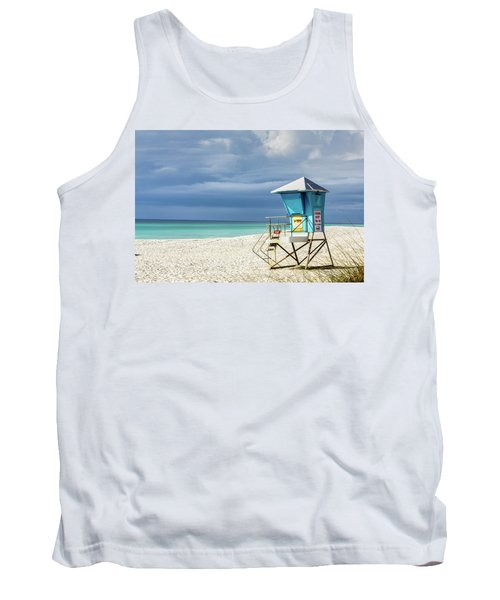 Lifeguard Tower Florida Gulf Coast Tank Top