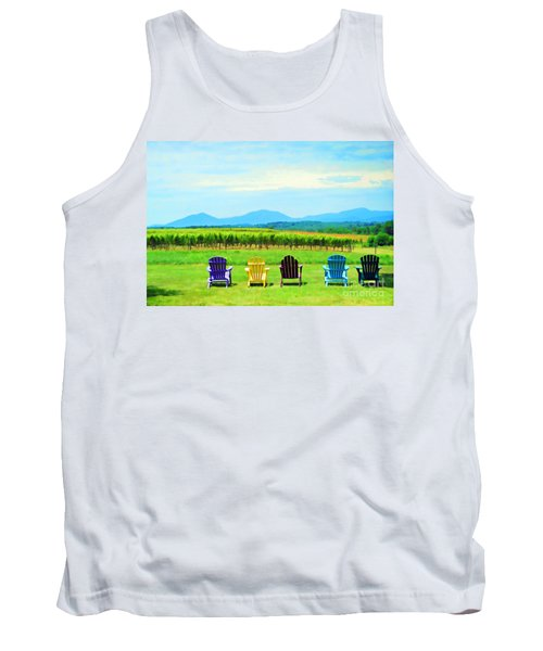 Watching The Grapes Grow Tank Top